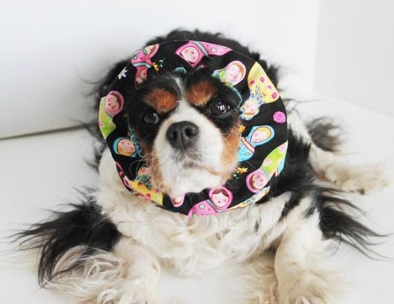 Bright Matryoshkas Dog Snood / Cavalier and Cocker Long Ear Covering