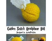 PATTERN - Golden Snitch Headphone Ball
