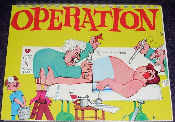 board game operation coloring pages - photo#12