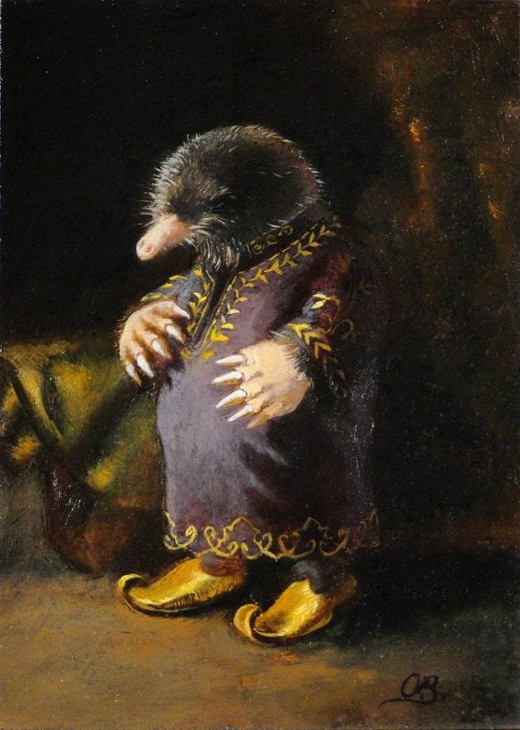 Mole - Chronicles of Riches - Canvas Print 5x7