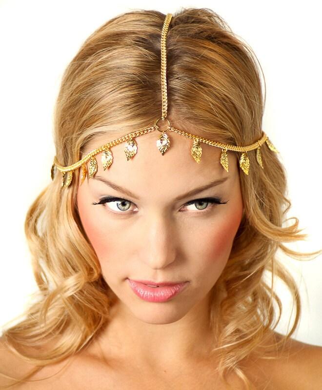 Etsy Chain Headpiece Chain Headpiece Headband