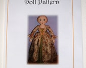 Queen Anne Doll E-Pattern PDF