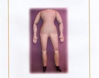 E-Pattern Large China Head Doll Body Digital Download