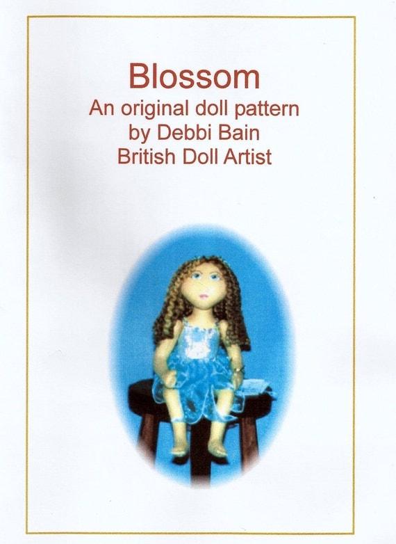 Blossom Fairy Doll E-Pattern PDF Digital Download