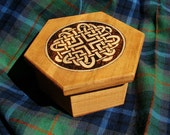 Celtic love knot box