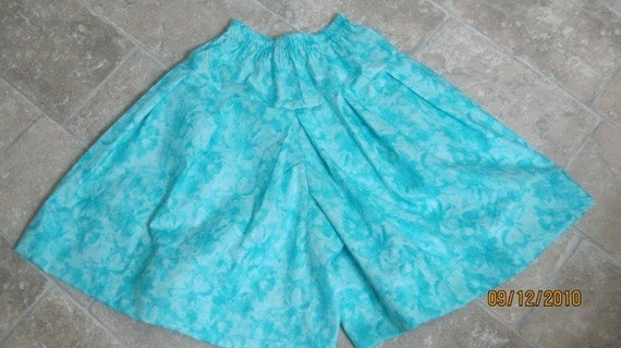 On Sale NOW 15.00 --- Culottes for Girls 12/14 or smaller
