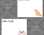 SEC Teams Personalized Stationary - Set of 20