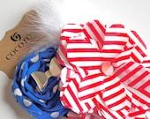sailor rosette hair clip