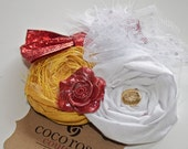 Beauty and the Beast Belle hair clip