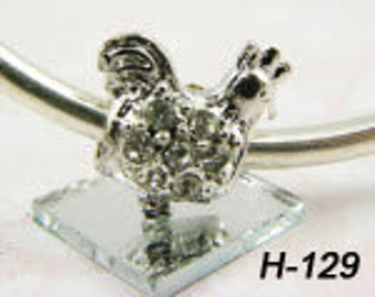 Chicken - European Big Hole Charm