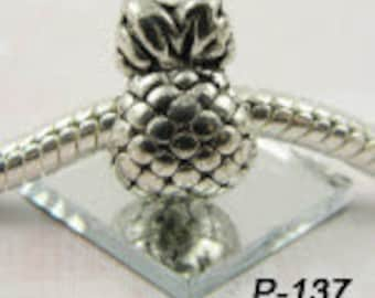 Pineapple - European Big Hole Charm