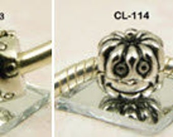 Themed Clip-Lock Charm/Bead - European Big Hole Bracelet