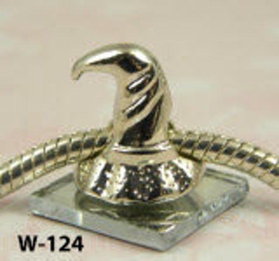 Sorting Hat or Witch Hat - European Big Hole Charm