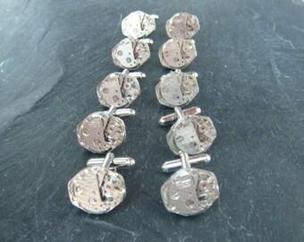 5 Matching sets of Watch Movement Cufflinks ideal cufflinks for a wedding.