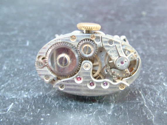 Swiss Made Watch Movement Ring
