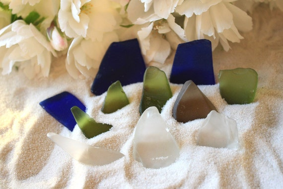 Multicolor Sea Glass Assortment - Seconds