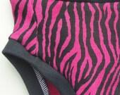 Cloth Training Pants - Convertible - XS Hot Pink Zebra