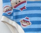 SECONDS Cloth Training Pants - Convertible - SM Sock Monkeys