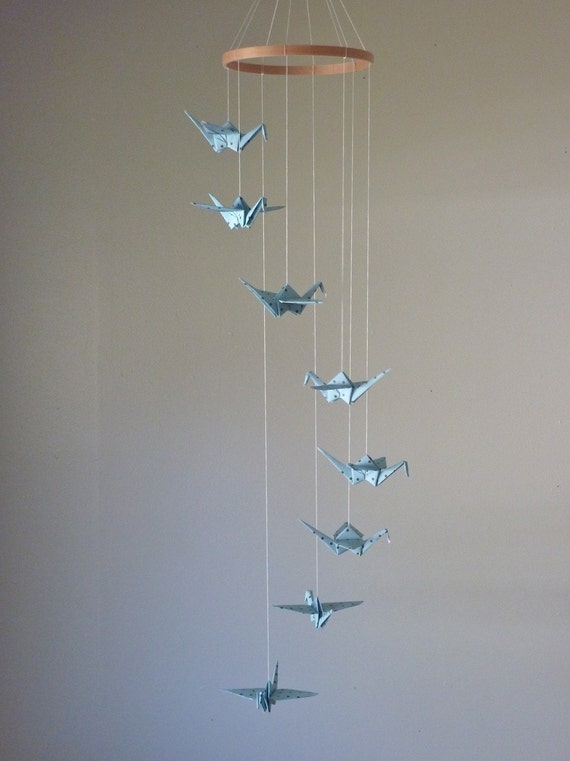 Origami Crane Mobile Baby Mobile Children By