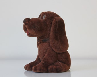 Very pretty vintage toy DOG from 70s Soviet Union