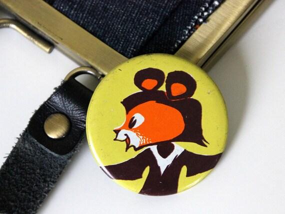 Bear, Vintage USSR pin