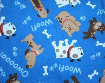 Dogs WOOF Quilt
