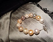 12-14 mm White Pearl Bracelet