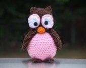 Cute Crochet Owl