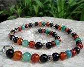 Mexicali Vibrant Semi Precious Stones