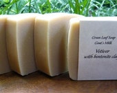 Vetiver (with Goats Milk, Shea Butter and Bentonite Clay)