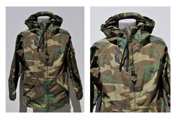 M65 vintage military army field jacket coat medium regular camoflauge camo