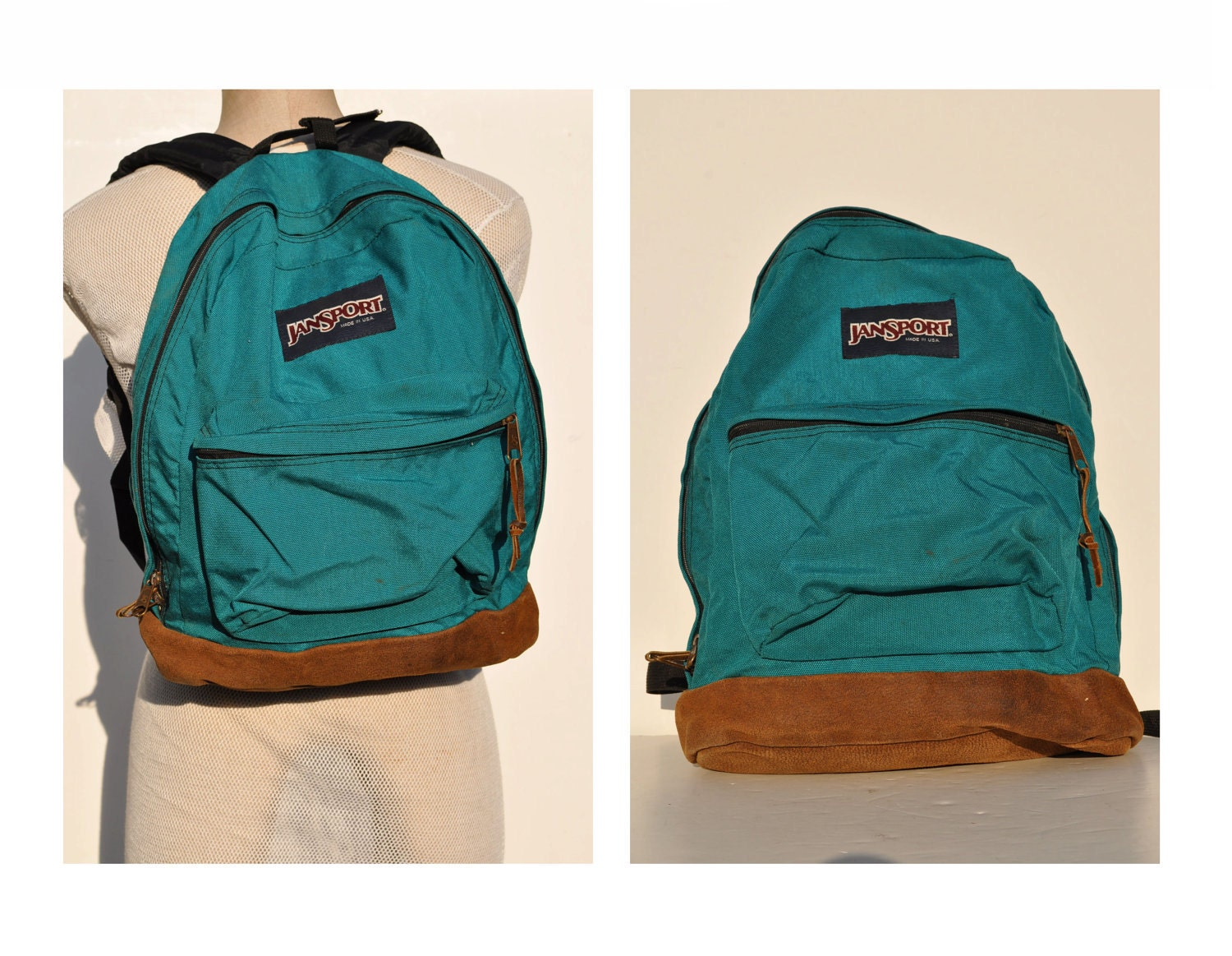Leather Jansport Backpack | Frog Backpack