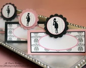New-Mommy to Be Silhouette Collection- Complete Custom Party Package