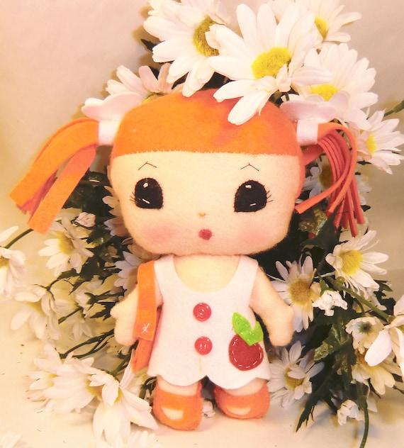 "Instant Digital Download-Art Doll Pattern Pdf  DIY "" Doll PIMPA "" sewing  free shipping"