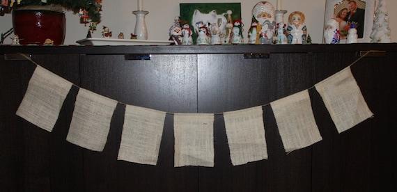 Make Your Own Burlap Banner, Blank burlap banner, DIY banner, DIY burlap banner, Blank banner