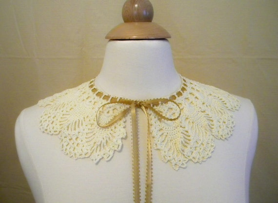 Crocheted Victorian Lace Collar