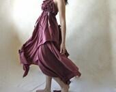 Ethereal fairy gown in purple OOAK