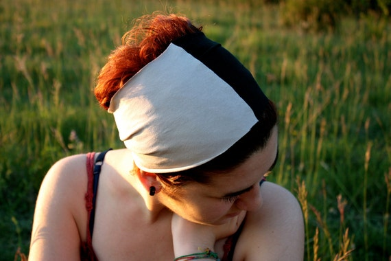 Bicolor head band in any colors' combo