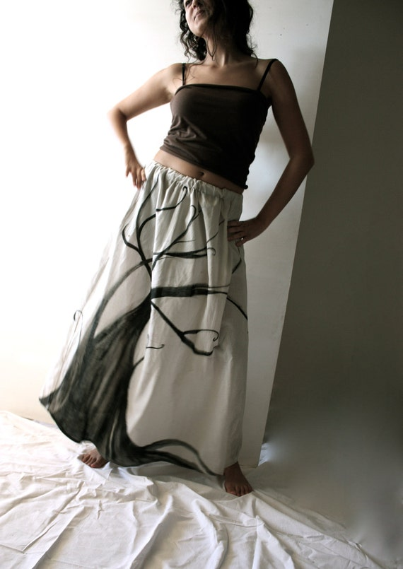 Tree of Rebirth long skirt
