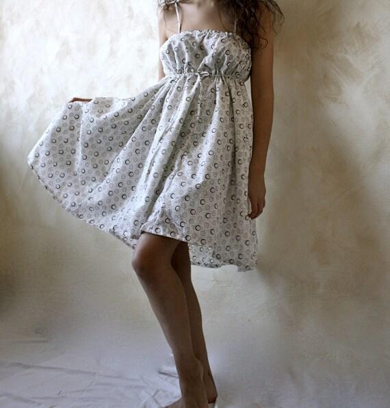 Babydoll cotton dress - Tarot VI- LAMOUREUX