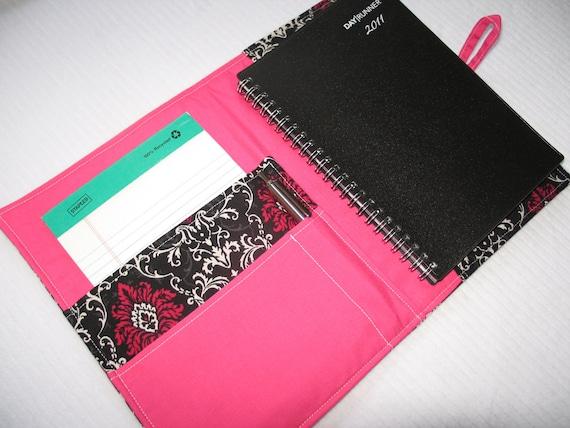 Medium Organizer- Juliette la Rouge- planner/carry all/organizer/journal/ portfolio