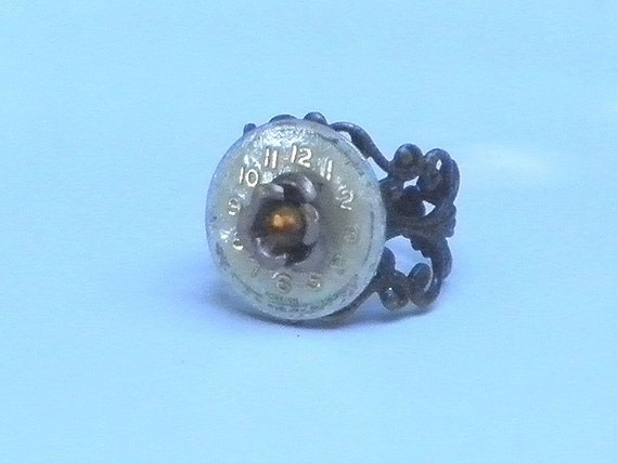 SALE Neo Victorian Steampunk Ring