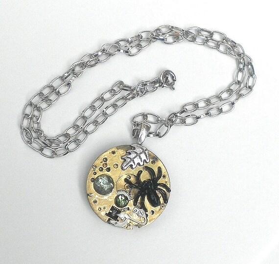 Reversable Steampunk Necklace