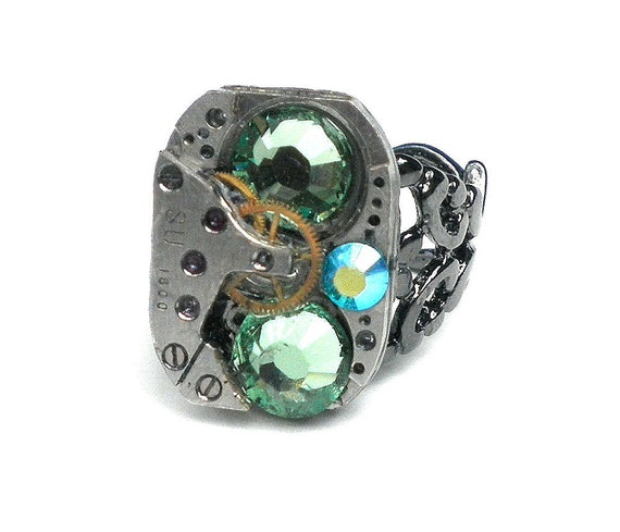 On Sale Steampunk Ring