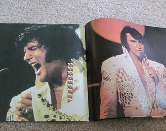 Elvis Special TV Edition Photo Album Program Booklet Circa Early 1970s