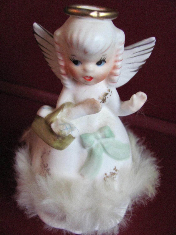 Sale beautiful vintage napco angel figurine august - Angels figurines for sale ...