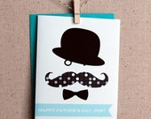 Father's day Card - Mustache Card