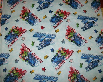Thomas the train fabric etsy uk for Train fabric by the yard