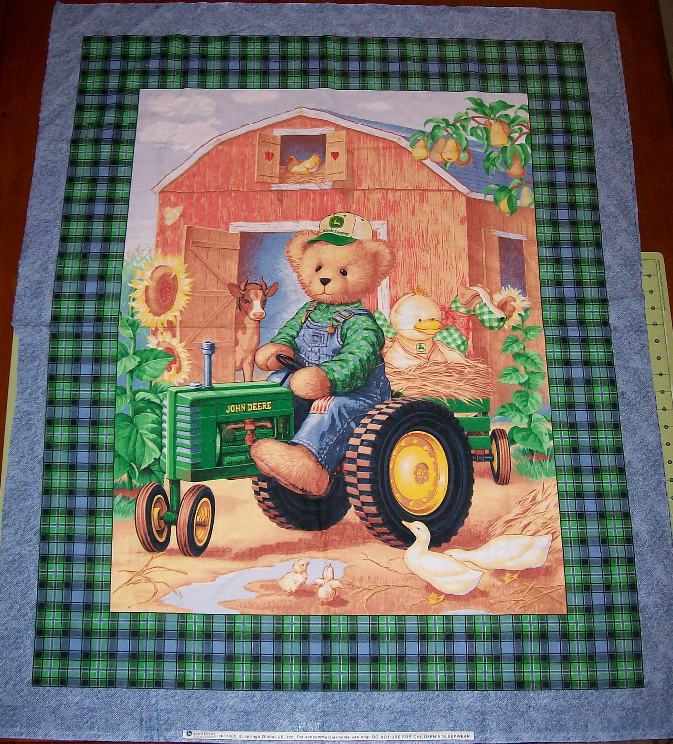 John Cotton Books: An Adorable My John Deere Nursery Fabric By