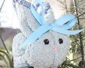 Blue Boo Boo Bunny with reusable ice cube